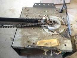 garage door repair san ramon garage door chain lift master drive opener with top gear sheared