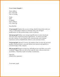 Handwritten Cover Letter Samples Sample Professional Letter Formats
