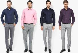 Pant And Shirt Mens Guide To Perfect Pant Shirt Combination Dressing Ideas Men
