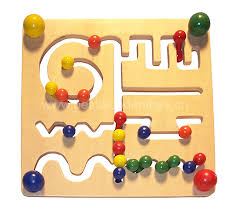 Wooden Bead Game wooden bead mazewood bead mazebaby bead maze 100