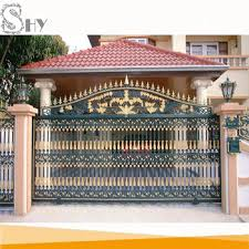 Simple Sliding Entrance Wrought Iron Main Gate Design For Home Buy Best Home Gate Design