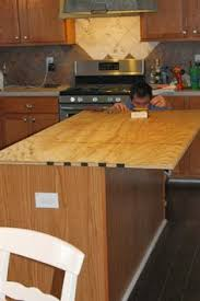 install new plywood base for faux reclaimed wood countertops the ragged wren on remodelaholic