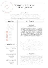 Free Resume Templates Word Resume Template 4 Pack Cv Template Resume