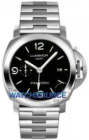 pam00329 luminor 1950 3 days gmt automatic 44mm panerai panerai luminor 1950 3 days gmt automatic 44mm mens watch model number pam00329