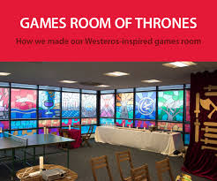 office game room. This Week We Decided To Surprise Our Staff With Their Very Own Game Of Thrones Inspired Games Room, As A Way Saying Thank You For All Hard Work. Office Room
