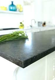 pencil edge granite kitchen modern with round metal look mosaic wall countertop images pencil edge