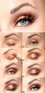 this is another super easy eye makeup which you can do with any shade that have