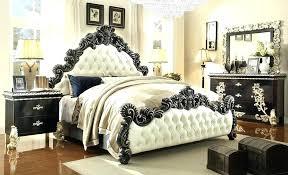 Elegant Bedrooms Furniture Bedroom Elegant Tufted Headboard Bedroom ...
