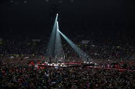 One Direction Concert Lights One Direction Concert At Stadium Of Light Chronicle Live