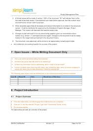 It Project Plan Template Fascinating Project Management Plan Template