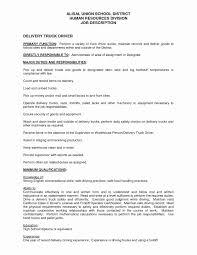 50 Beautiful Resume Sample For Driver Resume Templates Blueprint