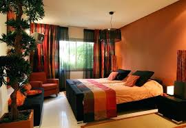 Brown And Orange Bedroom Ideas