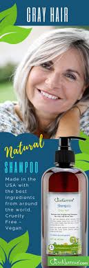 Sulfate Free Brightening Shampoo For Gray