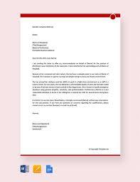 13 Sample Nursing Reference Letter Free Sample Example