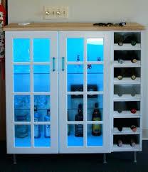 bar cabinets for home wall cabinet wine shelf and glass doors shelves ikea