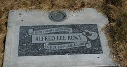 Alfred Lee Rowe (1941-2005) - Find A Grave Memorial