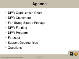 Fort Bragg Directorate Of Public Works Upcoming Projects