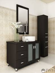 Bathroom Single Vanity 39 Lune Single Bathroom Vanity Espresso Bathgemscom