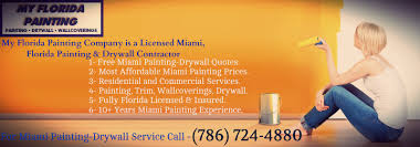 miami florida painting company can fectively provided residential and commercial painting by experts painters in miami florida the painter in miami