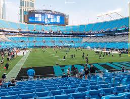 Carolina Panthers Tickets Seating Chart Bank Of America Stadium Section 103 Seat Views Seatgeek