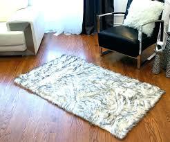 gray area rug 8x10 faux sheepskin rug faux fur area rug faux fur area rug faux