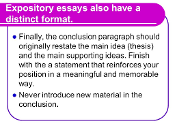 the expository essay what is an expository essay an expository  5 expository