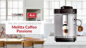 Máy pha cà phê tự động - Melitta Caffeo Passione - Review - YouTube