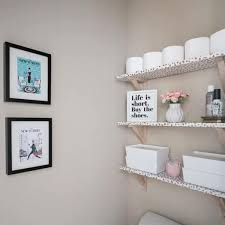 For those who want strength and sturdiness before style, an industrial pipe shelf is a good idea for a wall addition. Bathroom Shelf Ideas 15 Clever Diy Bathroom Shelves For Bathroom Storage Diy Decor Mom