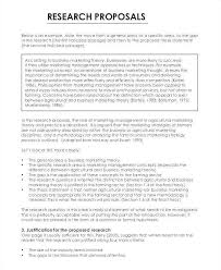 Apa Research Proposal Sample Psychology Research Proposal Example Pdf New Example Rationale For