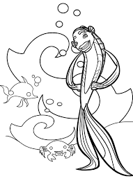Small Picture Picture of Oscar Shark Tale Character Coloring Pages Batch Coloring