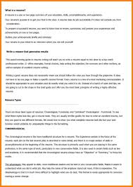 Mba Resume Format Download Successful How To Write A Effective Types