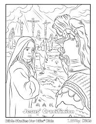 Crucifixion Of Jesus Coloring Pages Unique Religious Easter Coloring