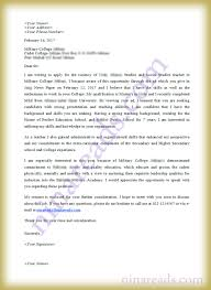Cover Letter For Teaching Job In Military College Sample