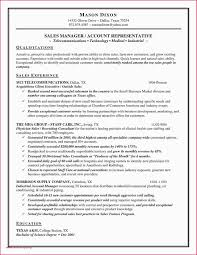 Sales Manager Resume Template Examples Retail Resume Sample Retail