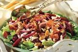 blue cheese  beet   bacon salad