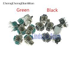 <b>50pcs</b>/lot OEM <b>3D Analog</b> Joystick Sensor Module Potentiometer ...