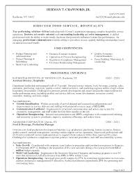 Food And Beverage Director Resume Resume For Your Job Application