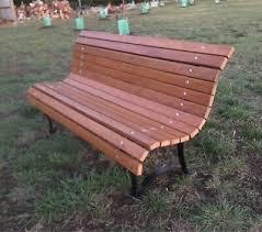 park bench in geelong region vic