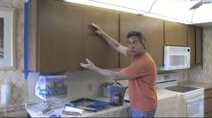 Painting The Kitchen How To Paint Your Kitchen Cabinets To Look As Good As New Youtube