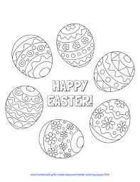 Coloring pages are fun for children of all ages and are a great educational tool that helps children develop fine motor skills, creativity and color recognition! 83 Best Easter Coloring Pages Free Printable Pdfs To Download