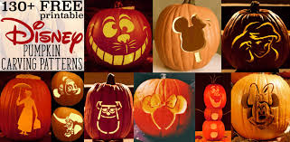 Pumpkin Carving Pattern Custom Disney Pumpkin Stencils Over 48 Printable Pumpkin Patterns