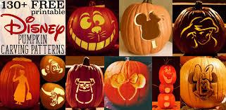 disney pumpkin stencils