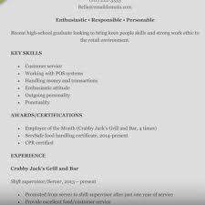 Resume Examples Retail Resume Templates Design Cover Letter