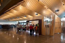 view of the interior of christchurch airport organic architecture ceiling interior design
