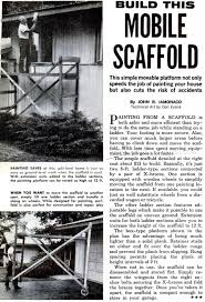 build mobile scaffold