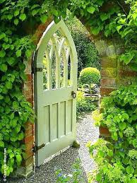 garden arch with gate garden archway gate beautiful painted wooden gate and old hall gardens source