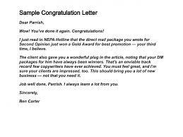 Congratulation Letter Request Guatemalago