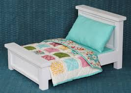 Doll Bed with Bedding & Patchwork Quilt - Blog - homeandawaywithlisa & Doll Bed with Bedding & Patchwork Quilt Adamdwight.com
