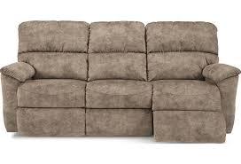 La-Z-Boy Brooks Casual Power Reclining Sofa with USB Charging ...