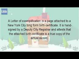 What Is The Letter Of Exemplification Youtube